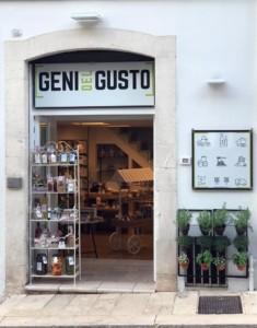 GENI DEL GUSTO • SHOWROOM via Tenente Cucci 15 • Alberobello, Bari